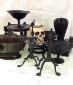 "House & Home Finds ""Classy"" ""Creepy Antiques"" For Halloween"
