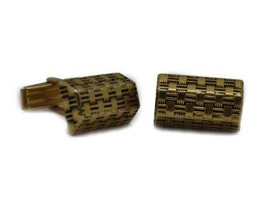 14kt Gold Cufflinks