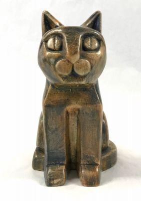 Art Deco Ceramic Cat