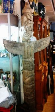 British Columbia Haida Totem Pole