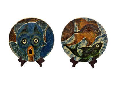 Barbizon Fish Plates