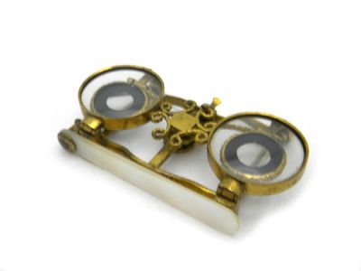 Opera Glasses Collapsible with Box