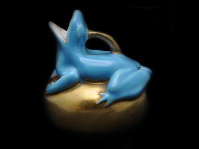 Copeland Frog Figurine