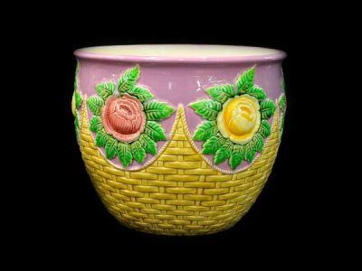 Czech Art Pottery Jardinière