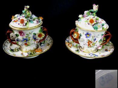 Coalbrookdale caudle cups
