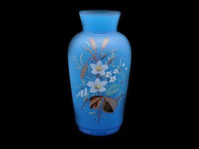 Opaline Art Glass Vase French