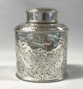 Georgian Sterling Silver Tea Caddy
