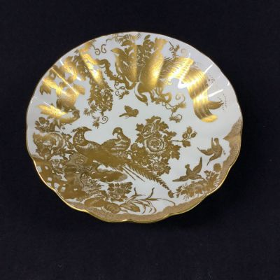 Gold Aves Bread & Butter Plate by Royal Crown Derby