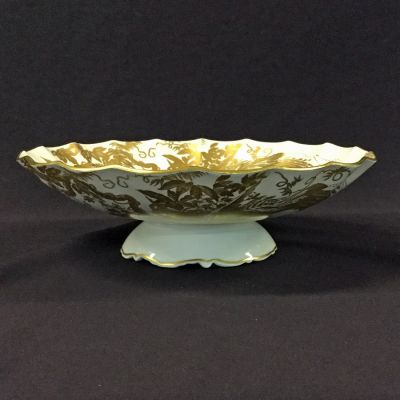 Gold Aves Marquis Bowl by Royal Crown Derby