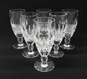 "Irish Waterford Crystal ""Colleen"" Flute Champagne Glasses"