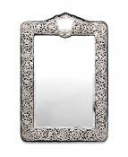Edwardian Sterling Silver Framed Mirror