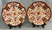 Mason's Ironstone Imari Plates, circa 1891-1900
