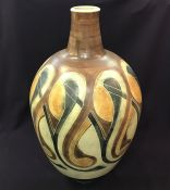 Monumental Harlander Vase In Earth Tones