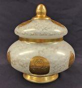 Murano Glass Covered Jar