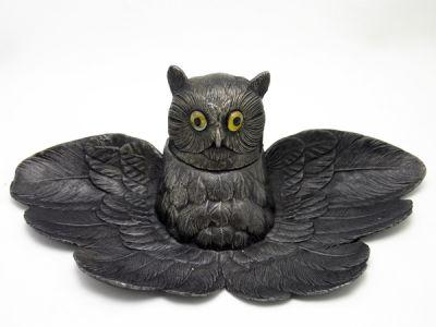 Owl Inkwell