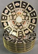 Royal Crown Derby Traditional Imari (2451) Dinner Plates