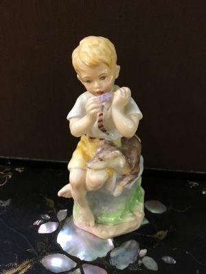 Royal Worcester Figurine June Boy