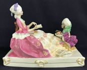 Royal Worcester Figurine The Planter's Daughter