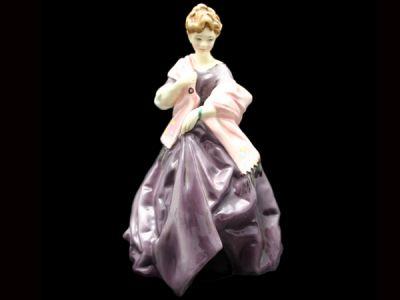 Royal Worcester Figurine First Dance