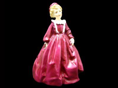 Royal Worcester Figurine Grandmothers Dress