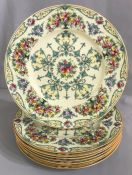 Royal Worcester Service Plates, Date Marked For 1932-33