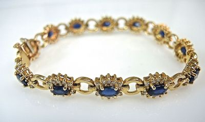 Classic Sapphire Bracelet