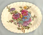 Spode Butchart Pattern Platter, Pattern # 2/9165