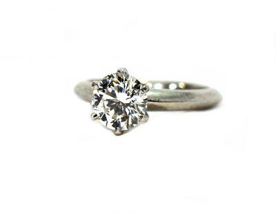 Tiffany Diamond Solitaire Ring