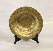 Tiffany & Co. Art Deco Bronze Dore' Shallow Bowl