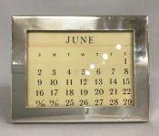 Tiffany & Co. Sterling Silver Perpetual Calendar