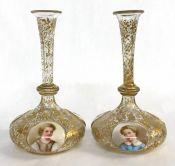 Victorian Gilded Scent Bottles
