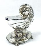Victorian Silver Plate Figural Spoon Warmer, English, Circa 1870-1883