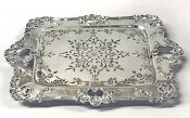 Victorian Sterling Silver Asparagus Serving Tray