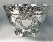 Victorian Sterling Silver Punch Bowl/Presentation Trophy