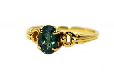 Vintage Alexandrite Solitaire Ring