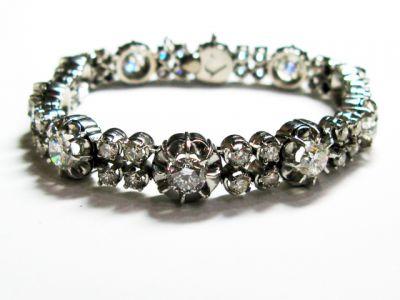 Vintage Diamond Bracelet