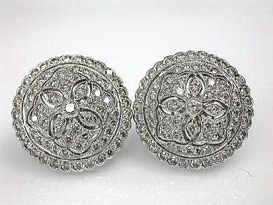 Vintage Diamond Earrings