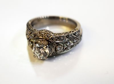 Vintage Diamond Ring Set