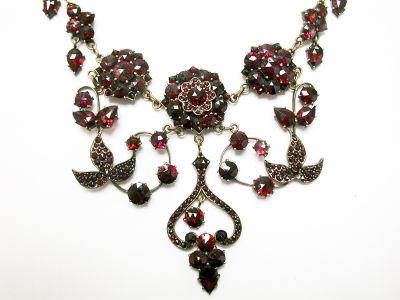 Vintage Garnet Necklace