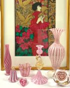 Vintage Art Glass and Painting Collection
