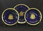 Vintage Canadian 1967 Centennial Commemorate Plates