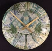 Vintage Harlander Earthenware Clock