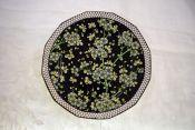 Vintage Royal Doulton Prunus Pattern D3832 Twelve Sided Plate
