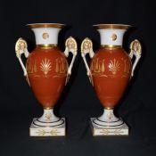 Vintage Vista Alegre Neo-Classical Porcelain Urns