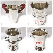 Vintage and Antique Silver Plate Champagne Coolers