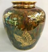Wedgwood Butterfly Lustre Vase, circa 1920s