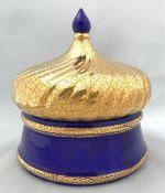 French 20th Century Longwy Pottery Box