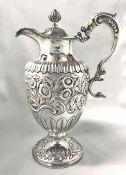 George III Scottish Sterling Silver Ewer, Hallmarked for Edinburgh 1807