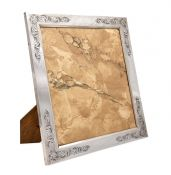 Large 900 Fine Silver Photo Frame with Wood Backing