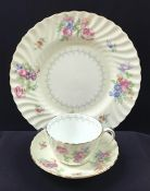"""Minton """"Bala"""" Dinner Service For 8With Serving Pieces, Circa 1950s"""